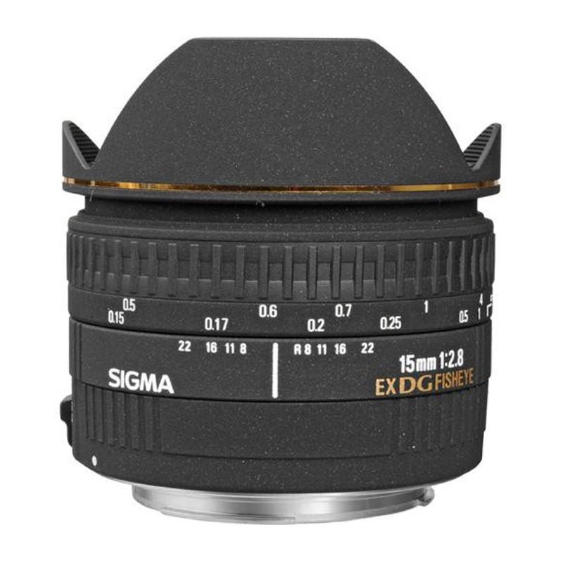 Купить - Sigma Sigma 15mm F2.8 EX DG Diagonal Fisheye (Canon)