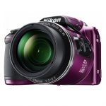 Фото - Nikon Фотоаппарат COOLPIX B500 Purple (VNA952E1)