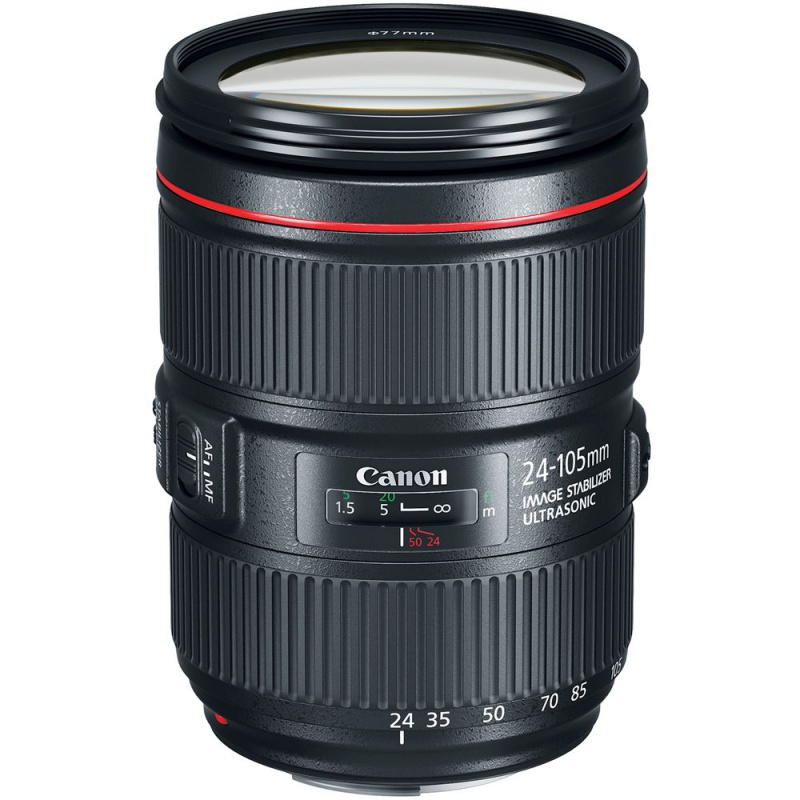 Купить - Canon Объектив Canon EF 24-105mm f/4L II IS USM (EU)