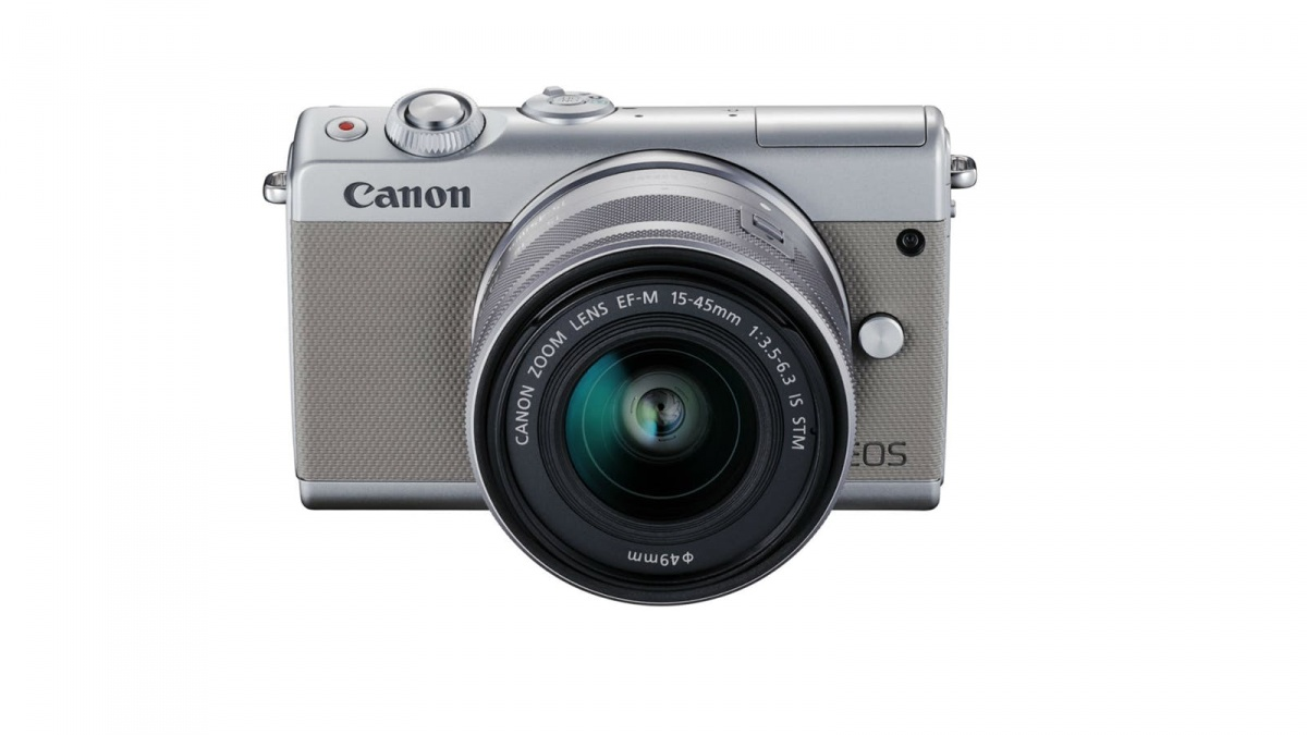 Купить - Canon Фотоаппарат Canon EOS M100 kit EF-M 15-45mm IS STM Grey (Официальная гарантия)