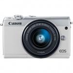 Фото - Canon Фотоаппарат Canon EOS M100 kit EF-M 15-45mm IS STM White (Официальная гарантия)