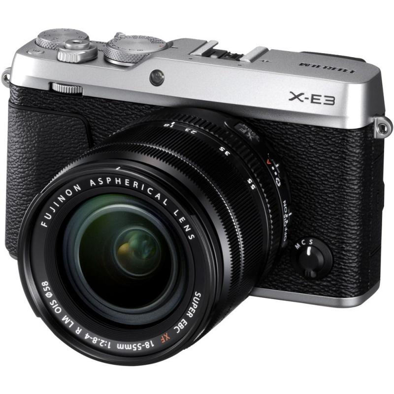 Купить - Fujifilm Fujifilm X-E3 + XF 18-55mm F2.8-4R Kit Silver (16558724)