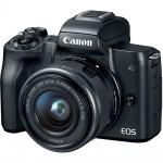 Фото - Canon Canon EOS M50 + 15-45 IS STM Kit Black (Официальная гарантия)