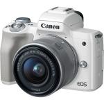 Фото - Canon Canon EOS M50 + 15-45 IS STM Kit White (Официальная гарантия)