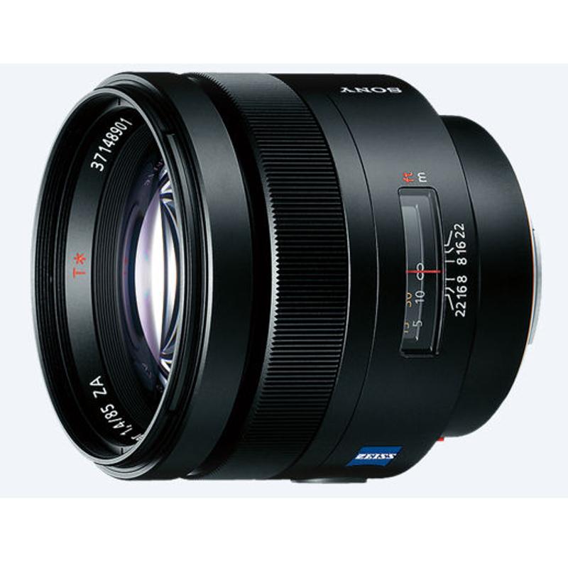 Купить - Sony Sony 85mm F1.4 ZA Carl Zeiss Planar T* (SAL85F14Z.AE)