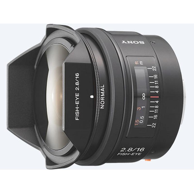Купить - Sony Sony 16mm F2.8 (SAL16F28.AE)