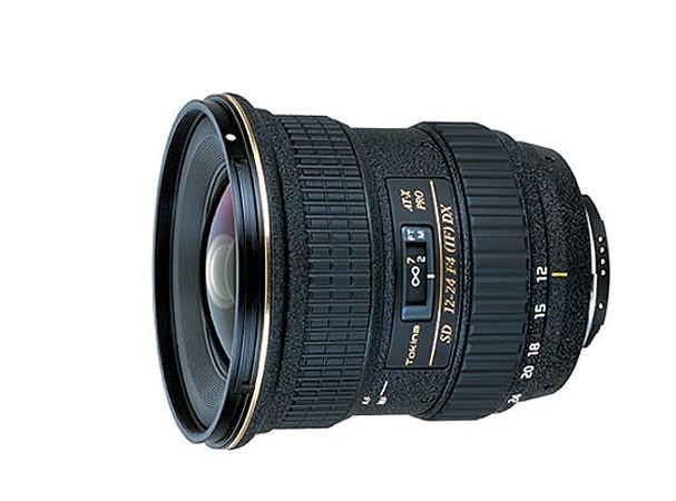 Купить -  Tokina ATX 12-24 mm f/4 DX