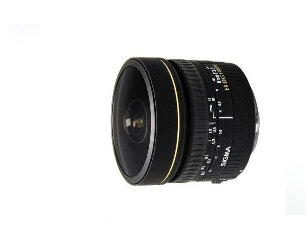 Купить - Sigma Sigma 8 mm f/3.5 EX DG Circular Fisheye