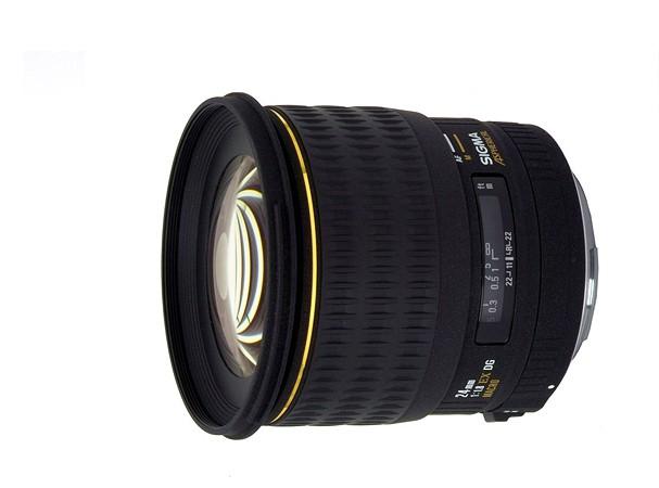 Купить -  Sigma 24 mm f/1.8 EX DG Aspherical Macro