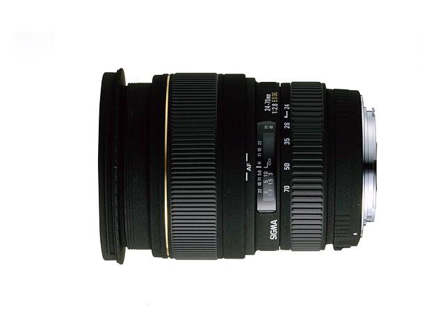 Купить -  Sigma 24-70 mm f/2.8 EX DG Macro