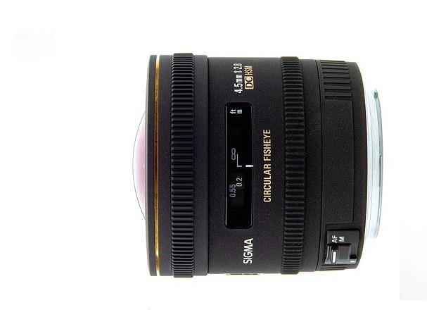 Купить -  Sigma 4,5 mm f/2.8 EX DC Fisheye HSM