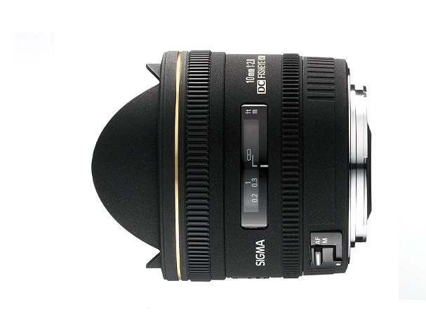Купить -  Sigma 10 mm f/2.8 EX DC Fisheye HSM