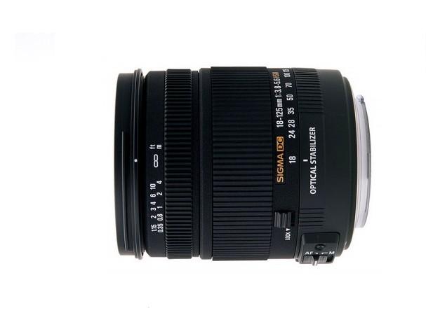 Купить -  Sigma 18-125 mm f/3.8-5.6 DC OS HSM