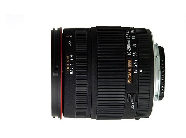 Купить -  Объектив Sigma 18-200 мм f/3,5-6,3 DC for Nikon
