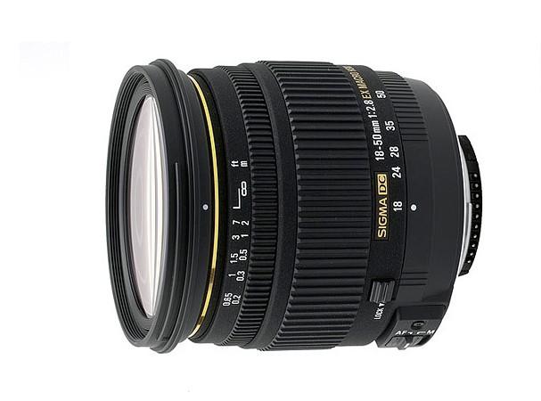 Купить -  Sigma 18-50 mm f/2.8 EX Macro HSM