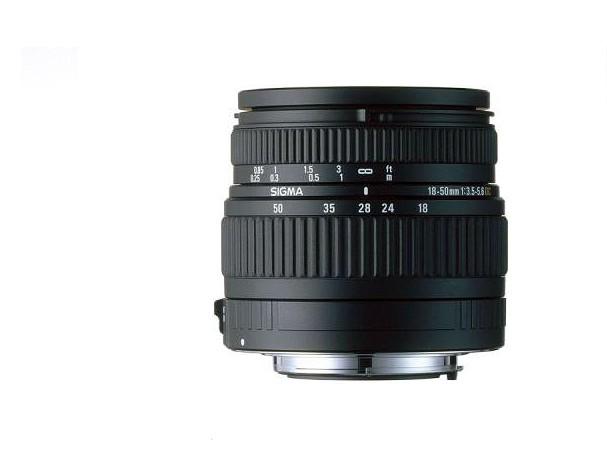 Купить -  Sigma 18-50 mm f/3.5-5.6 DC