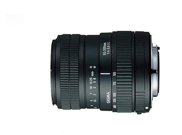 Купить -  Sigma 55-200 mm f/4-5.6 DC HSM