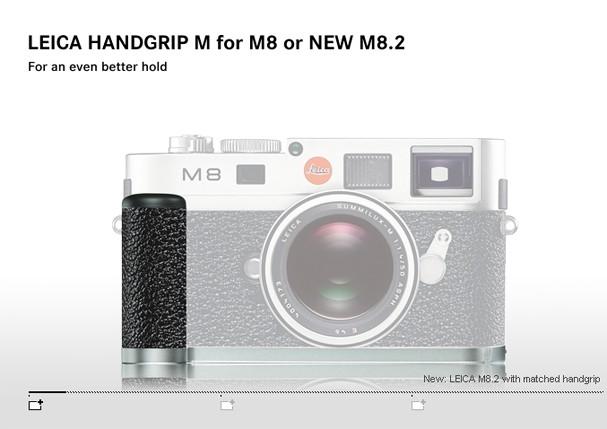 Купить -  LEICA дополнительная рукоятка для M8