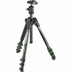 Фото - Manfrotto   Штатив Manfrotto Befree Alu Green new graphics (MKBFRA4GR-BH)