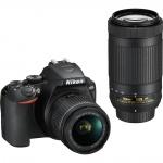 Фото - Nikon Фотоаппарат Nikon D3500 + AF-P 18–55 + AF-P DX 70–300