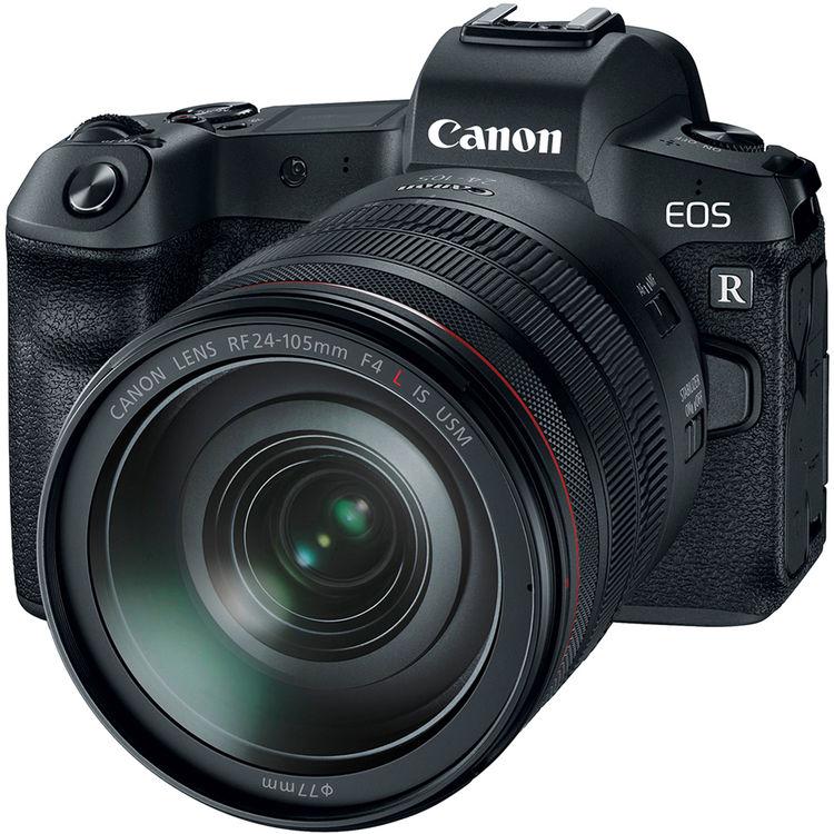 Купить - Canon Фотоаппарат Canon EOS R + RF 24-105L+ MT ADP EF-EOSR (Официальная гарантия)