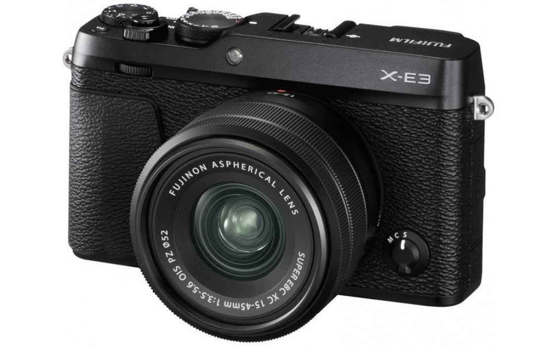 Купить - Fujifilm Fujifilm X-E3 + XC 15-45mm F3.5-5.6 Kit Black