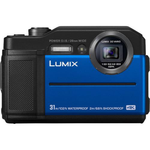 Купить - Panasonic Panasonic LUMIX DC-FT7EE-A Blue + Подарочный сертификат 500 грн