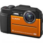 Фото - Panasonic Panasonic LUMIX DC-FT7EE-D Orange + Подарочный сертификат 500 грн