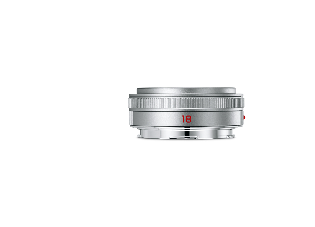 Купить -  LEICA ELMARIT-TL 18  f/2.8 ASPH, silver anodized finish ( 11089 )