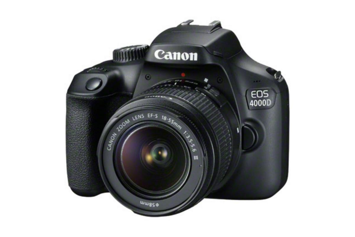 Купить - Canon Фотоаппарат Canon EOS 4000D kit EF-S 18-55 DC III