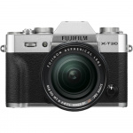 Фото - Fujifilm Фотоаппарат Fujifilm X-T30 + XF 18-55mm F2.8-4R Kit Silver (16619841)