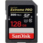 Фото - SanDisk Карта пам'яті SanDisk 128GB SDXC V30 UHS-II U3 R300/W260MB/s 4K Extreme Pro (SDSDXPK-128G-GN4IN)