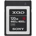 Фото - Sony Карта памяти Sony 120GB XQD G Series R440MB/s W400MB/s (QDG120F)