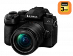 Фото - Panasonic Panasonic Lumix DC-G90 Kit 12-60mm Black (DC-G90MEE-K) + Подарочный сертификат 2000 грн!!!