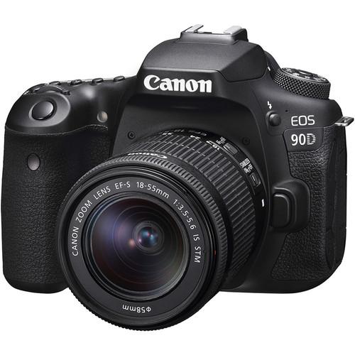 Купить - Canon Canon EOS 90D + 18-55 IS STM (Официальная гарантия)