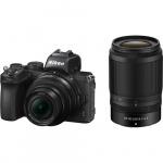 Фото - Nikon Фотоаппарат Nikon Z50 + NIKKOR Z DX 16-50 VR + 50-250 VR (VOA050K002)