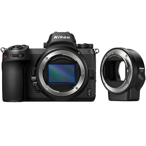Купить - Nikon Фотоаппарат  Nikon Z6 + FTZ Adapter kit