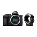 Фото - Nikon Фотоаппарат Nikon Z50 + FTZ adapter (VOA050K003)