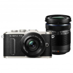 Фото - Olympus Olympus E-PL8 14-42mm Pancake + 40-150mm Double Zoom Kit Black/Black (V205083BE000)