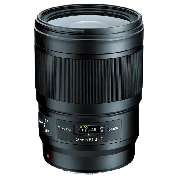 Купить - Tokina Объектив Tokina OPERA FX 50mm f/1.4 (Nikon) (OPR-AF50FXN)