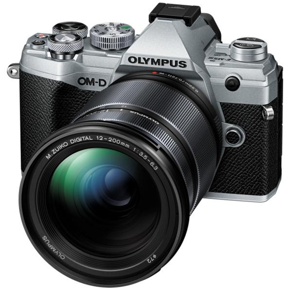 Купить - Olympus Olympus E-M5 Mark III 12-200mm Kit Silver/Black (V207090SE010)