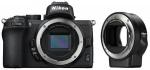 Фото - Nikon Фотоаппарат Nikon Z50 Body + FTZ Mount Adapter