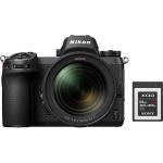 Фото - Nikon Фотоаппарат Nikon Z7 + 24-70mm f/4 kit + XQD G Series 64GB (VOA010K006) (Официальная гарантия!)