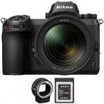 Фото - Nikon  Nikon Z7 + 24-70mm f/4 + FTZ Adapter kit + XQD G Series 64GB (VOA010K008) (Официальная гарантия!)