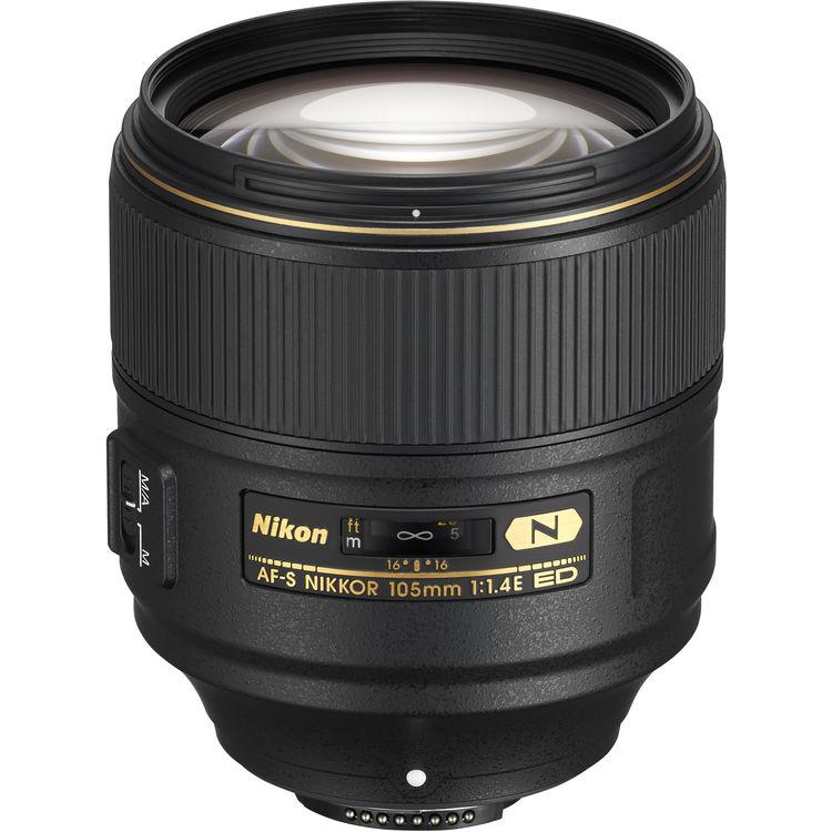 Купить - Nikon Nikon AF-S NIKKOR 105mm f/1.4E ED (JAA343DA)