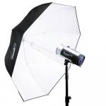 Фото - Hensel Фотозонт параболический белый HENSEL Master PXL white umbrella Ø 135 см (4821623)