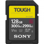 Фото - Sony Карта памяти Sony 128GB SDXC C10 UHS-II U3 V90 R300/W299MB/s Tough (SF-G128T)
