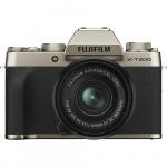 Фото - Fujifilm Фотоаппарат Fujifilm X-T200 + XC 15-45mm F3.5-5.6 Kit Gold (16646430)