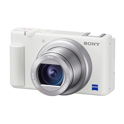 Купить - Sony Фотокамера Sony ZV-1 White (ZV1W.CE3)