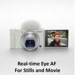 Фото Sony Фотокамера Sony ZV-1 White (ZV1W.CE3)